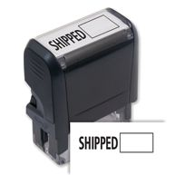 Shipped w/ Open Box Stamp - Self-Inking