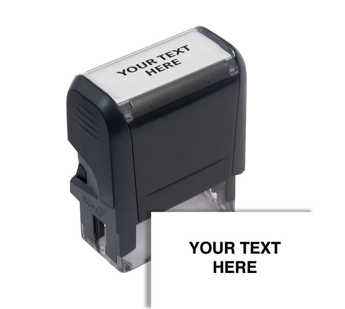 Design Your Own Stock Stamp, Small - Self-Inking103046
