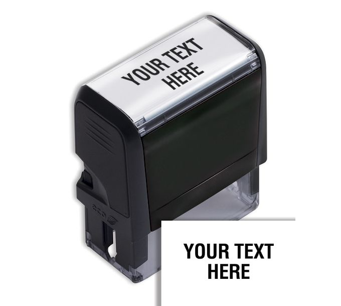 103047-Design Your Own Stock Stamp, Medium - Self-Inking103047