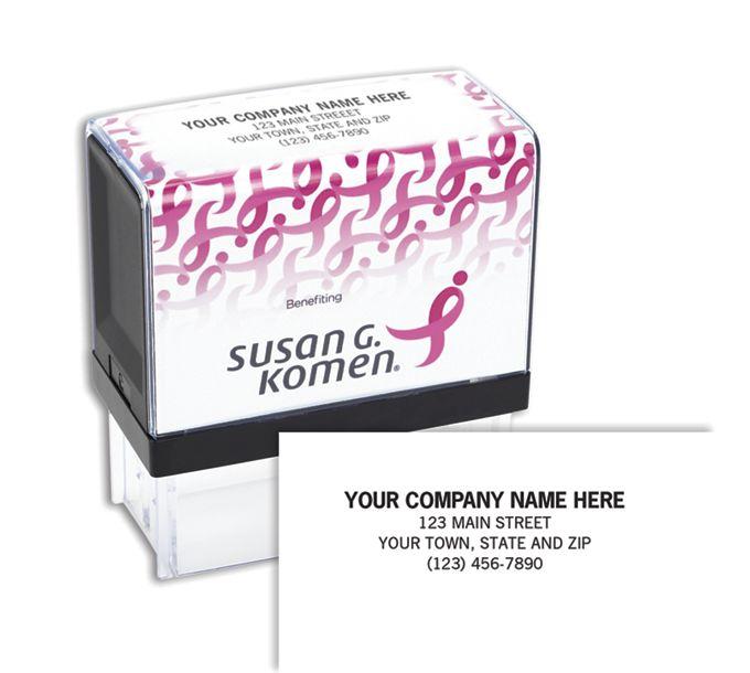 105002-Susan G. Komen Stamp,  Self-inking105002