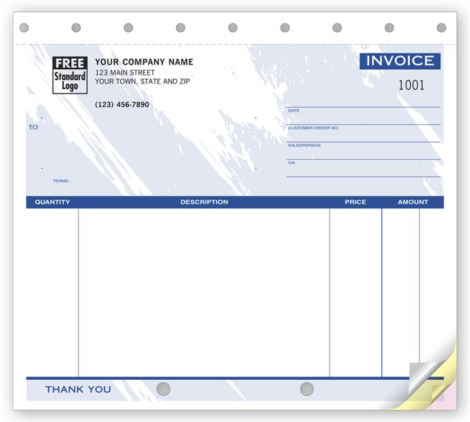 Invoices - Small Unlined107T