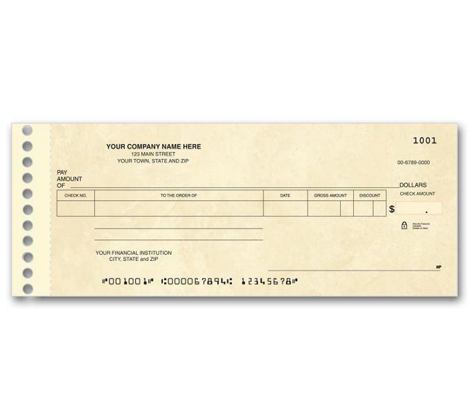 114011N-Compact Expense Ledger Check114011N