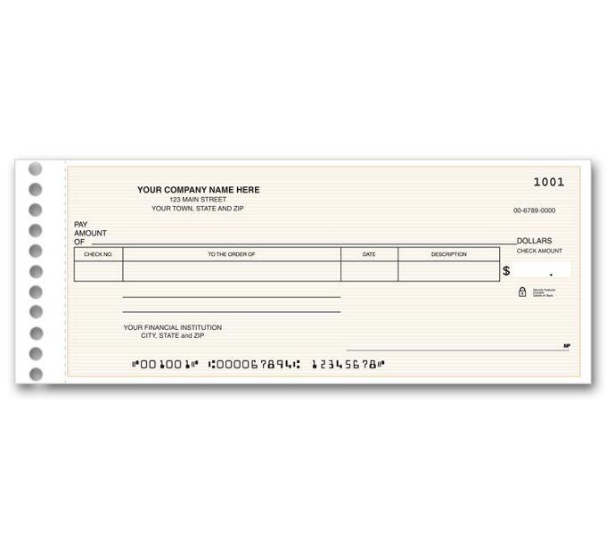 115011N-Compact General Expense Check115011N