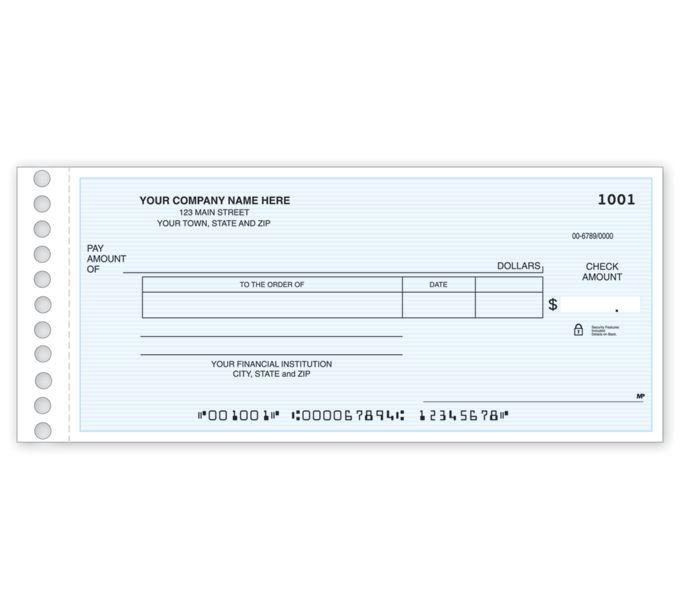 119011N-Disbursement Check119011N
