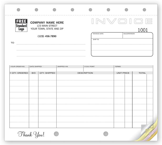 Classic, Small Shipping Invoices121