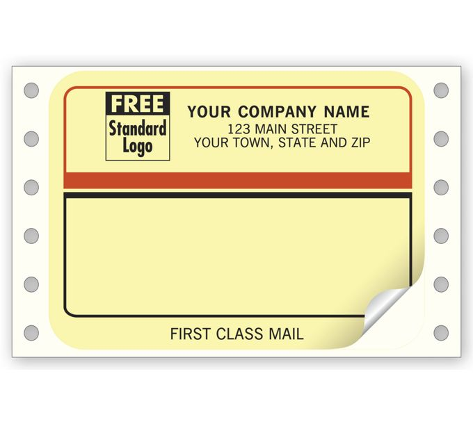 """Continuous Mailing Label, """"First Class Mail""""1226"""