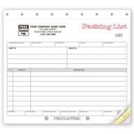 Carbonless, Small Format Packing Lists