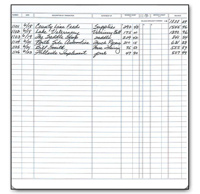 checkbook registers executive deskbook register 128051n by deluxe