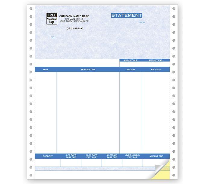 13053G-Statements, Continuous, Parchment13053G