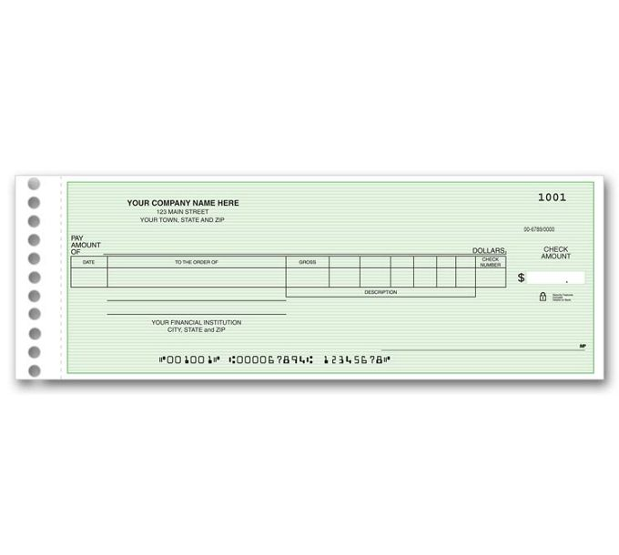 Payroll/General Expense Center Check131012N