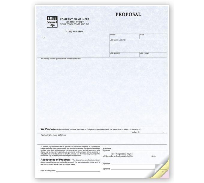 13128G-Proposals, Laser, Parchment13128G