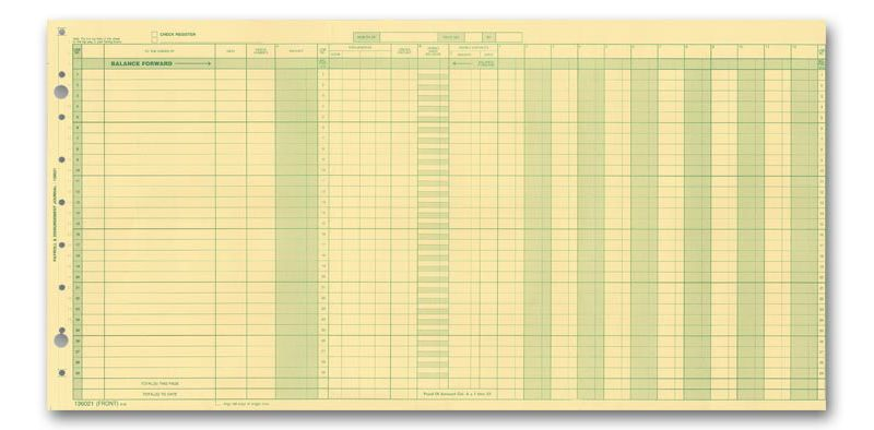 payroll expense journals order payroll expense journals deluxe