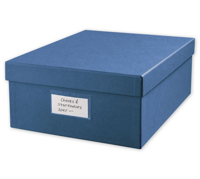 """Large 12 x 9 3/4"""" Cancelled Check Storage Box143048"""
