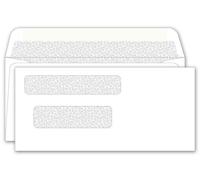 Double Window Envelope160041N