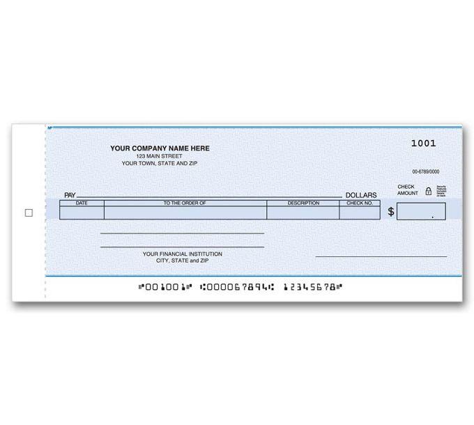 170NC-Compact General Disbursement Center Check170NC