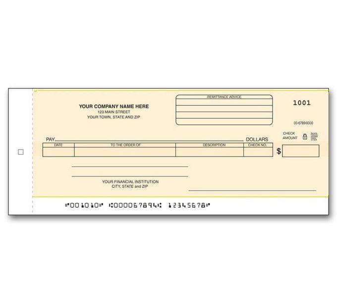 176CC-General Disb Center Check - Carbon176CC