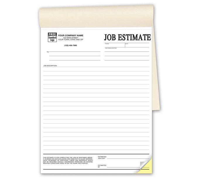 215B-Job Estimates - Booked215B