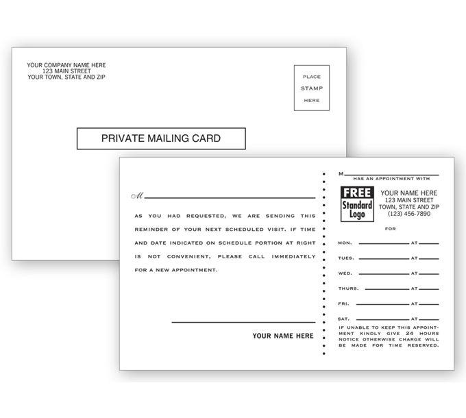 22917-Medical Postcards, Appointment Reminder22917