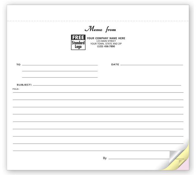 22950-Short-Kut 3 Part Carbonless Notes22950