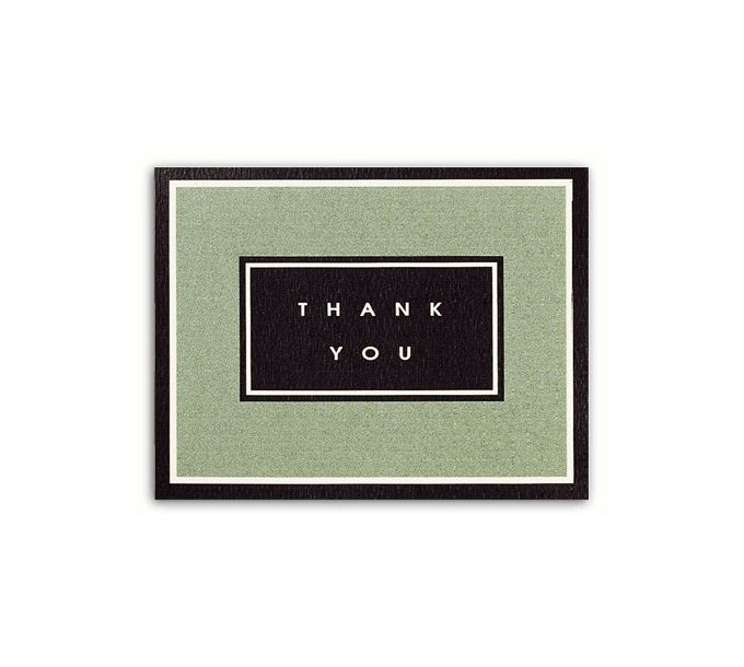 Budget Thank You Card2950