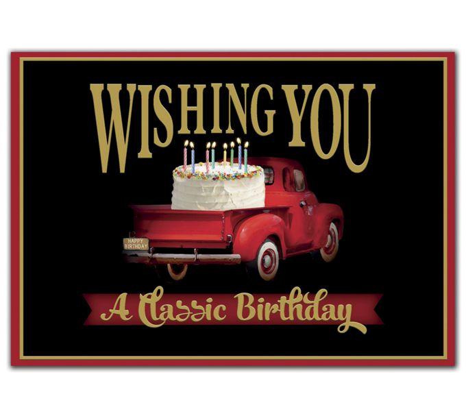 Classic Birthday Cards2ED301
