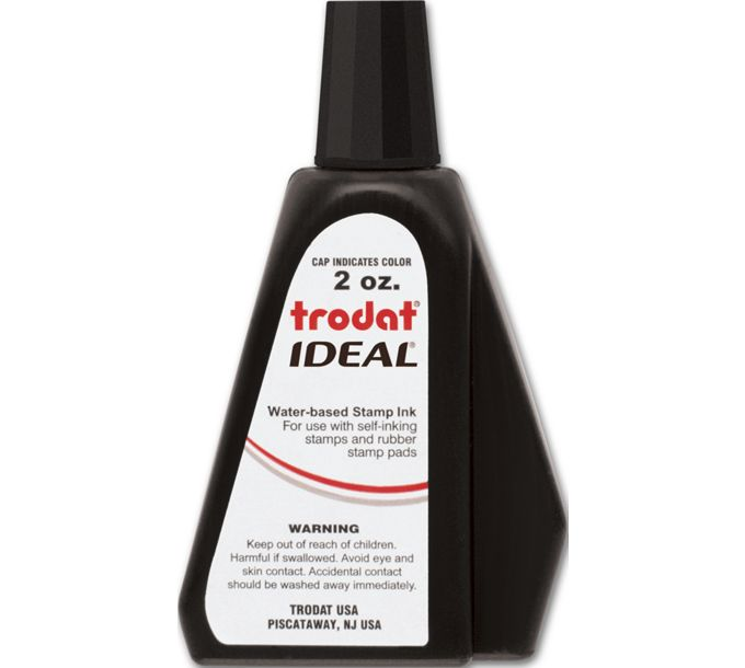 307000-Black Ink Refill for Self-Inking Stamp307000