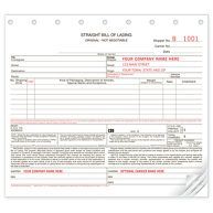 Bills of Lading, Carbonless, Small Format