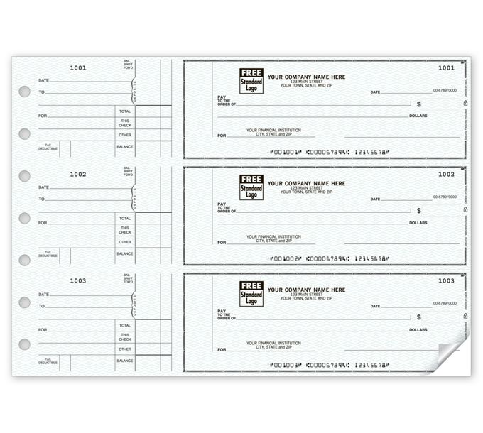 53221N-3-On-A-Page Counter Signature Checks53221N