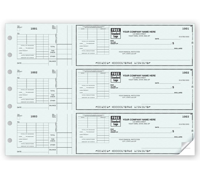 53223N-3-On-A-Page Check With Corner Voucher53223N