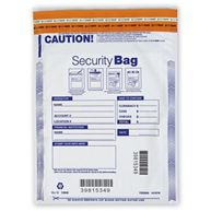 "9 x 12"" Single Pocket Deposit Bag, Opaque"