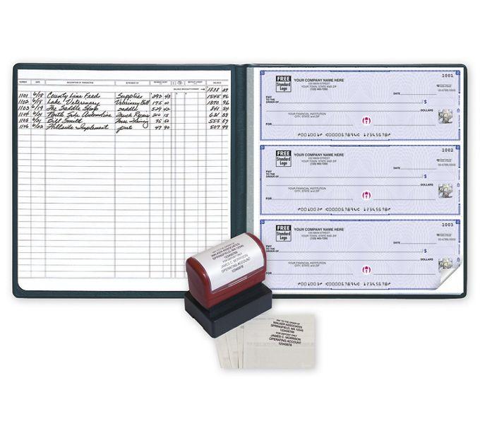 54033HZ-High Security 3-On-A-Page Executive Deskbook Value Pack, CFP54033HZ