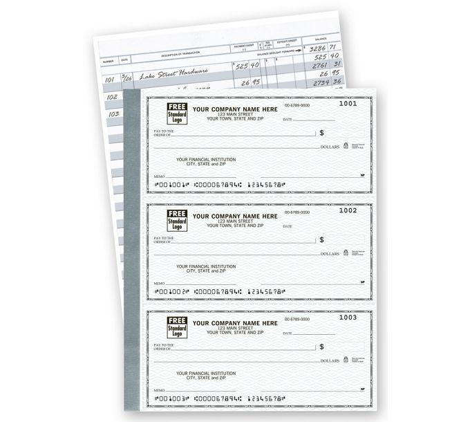 56200N-The Secretary Deskbook, 3-On-A-Page Compact Size Checks56200N