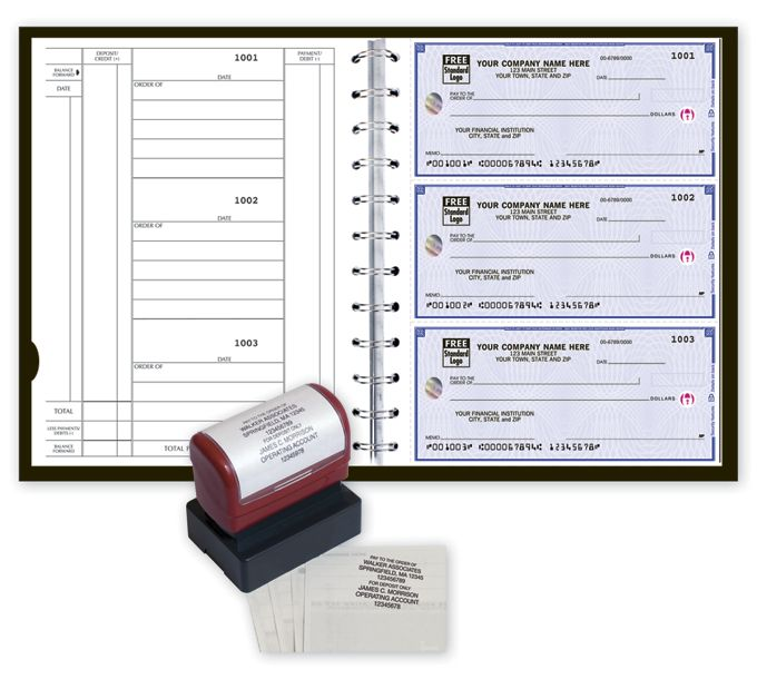 5640HS-High Security 3-On-A-Page Newport Deskbook Value Pack5640HS