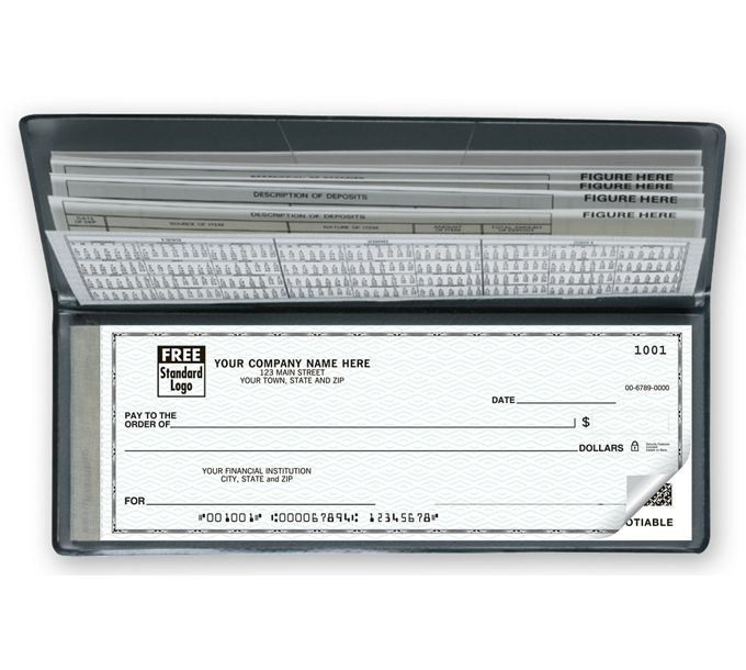 59000N-The Traveller, Business Size Portable Checks59000N