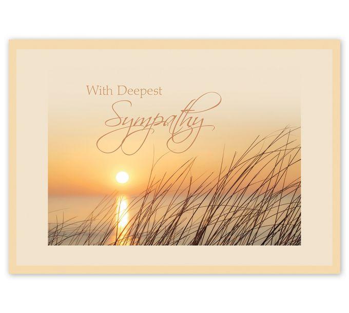Genuine Beauty Sympathy Cards5EH122