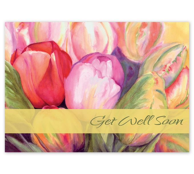 Precious Pastels Get Well Cards5EH126