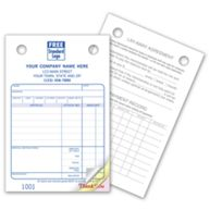 Jewelry Register Forms - Small Classic