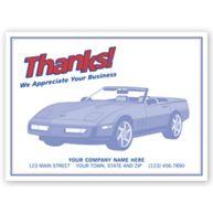 """Auto Floor Mat - """"Thanks!"""""""