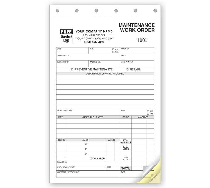 6632-Maintenance Work Orders6632