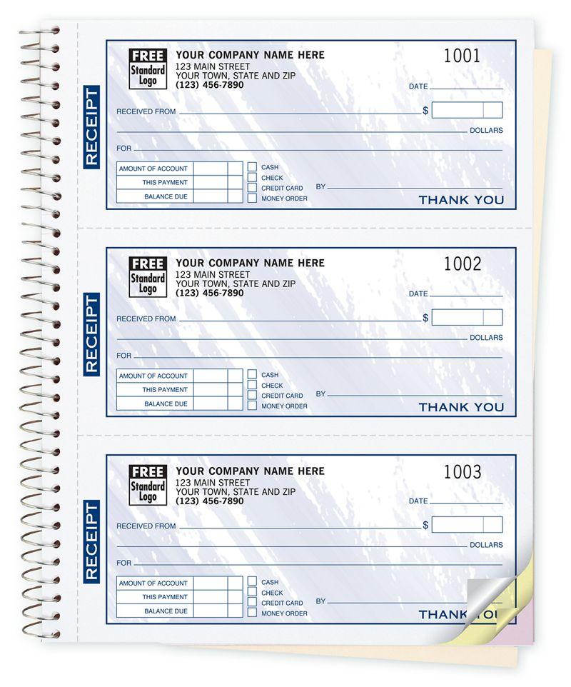 cash receipt books colors design 3 to page 693t deluxe