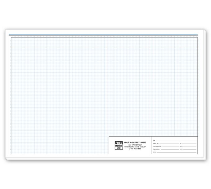 """708-Graph Paper - Pro-Sketch 1/8"""" Padded708"""