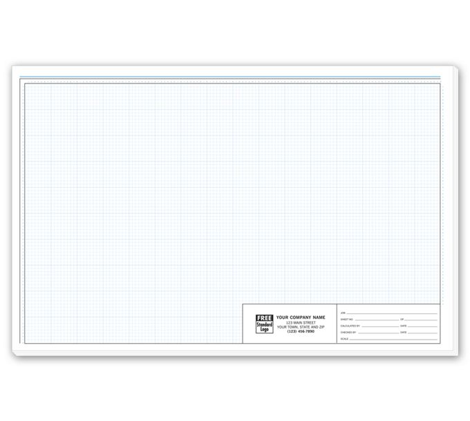 """709-Graph Paper - Pro-Sketch 1/8"""" Padded709"""