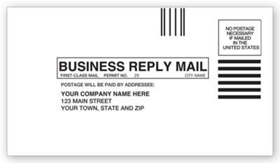Small Business Reply Envelope