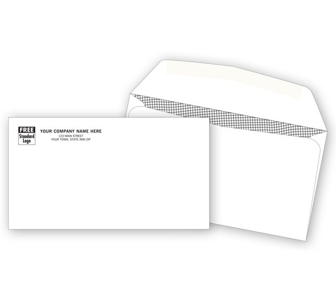 722-#6 3/4 Confidential Envelope722