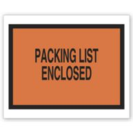 Packing List Envelope with Pressure Sensitive Backing