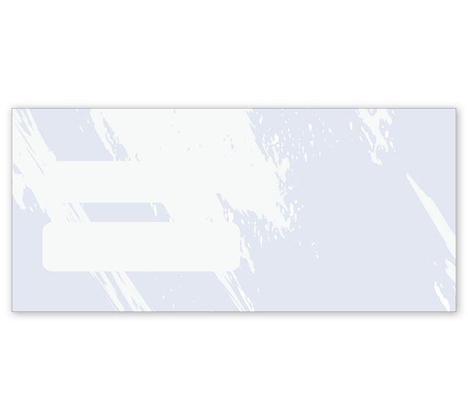 771T-Double Window Confidential Envelope, Colors Design771T
