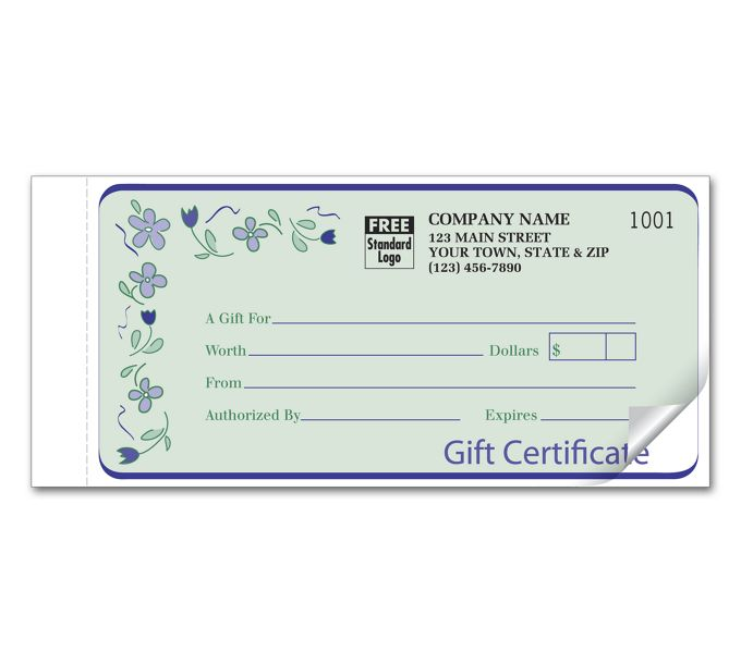 Spring Bouquet Set Gift Certificate865A