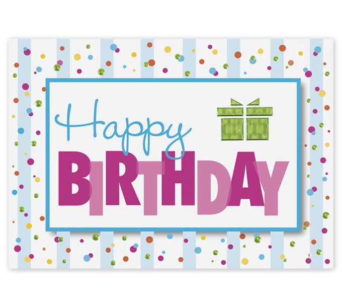 Amazing Wish Birthday Cards8ED104