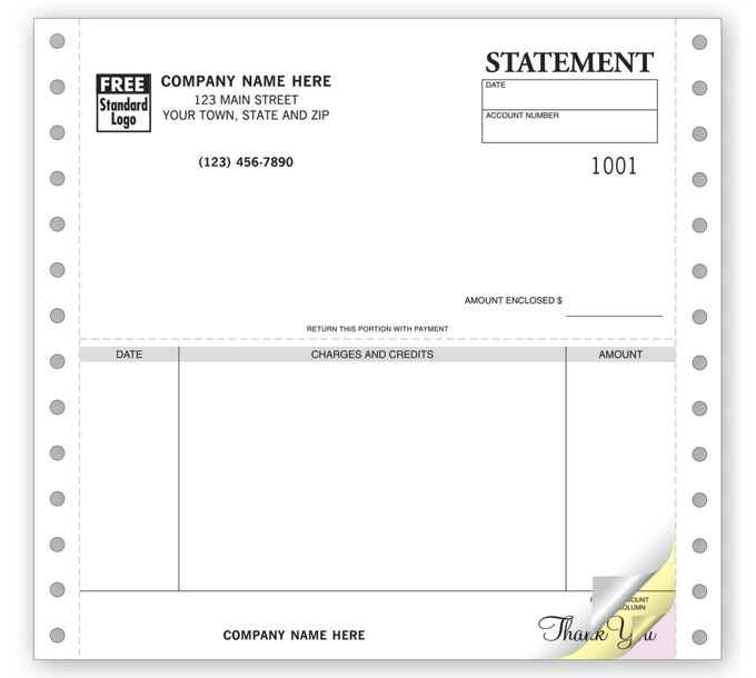 9060-Statements, Continuous, Classic9060
