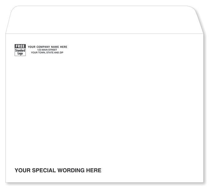 White Mailing Envelope912SW